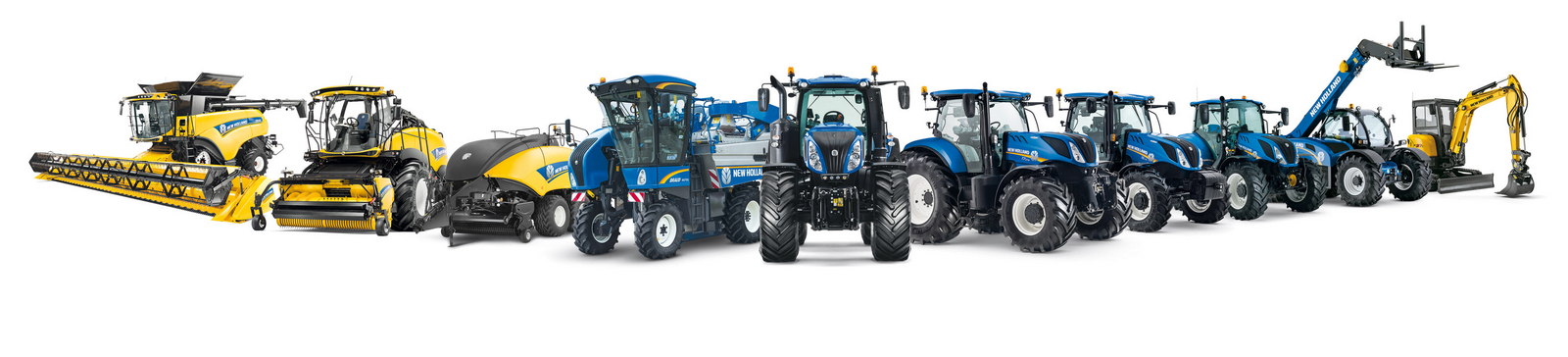 Foto vom New Holland Programm